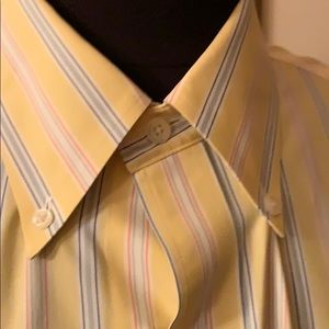 Brooks Brothers Shirts - Yellow men's brooks brother hint of pink white